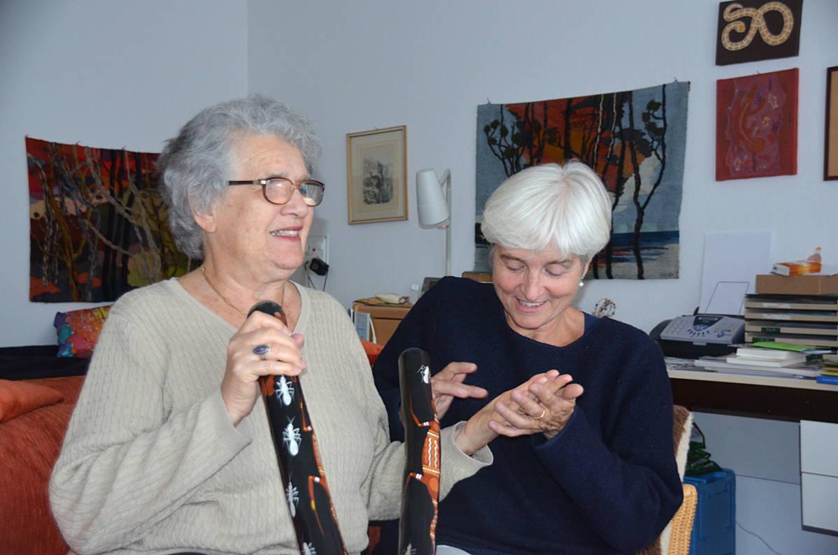 Lormen zwischen Doris Herrmann und Jeannine Lehmann